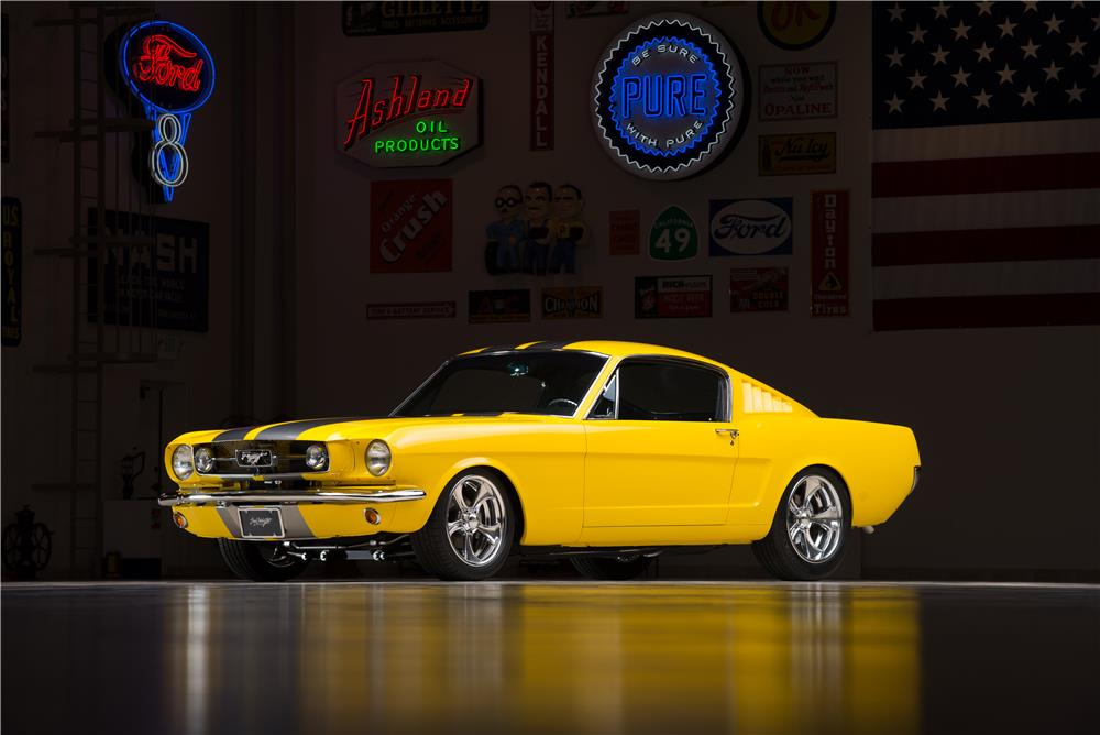 1965 FORD MUSTANG CUSTOM FASTBACK - Front 3/4 - 178619