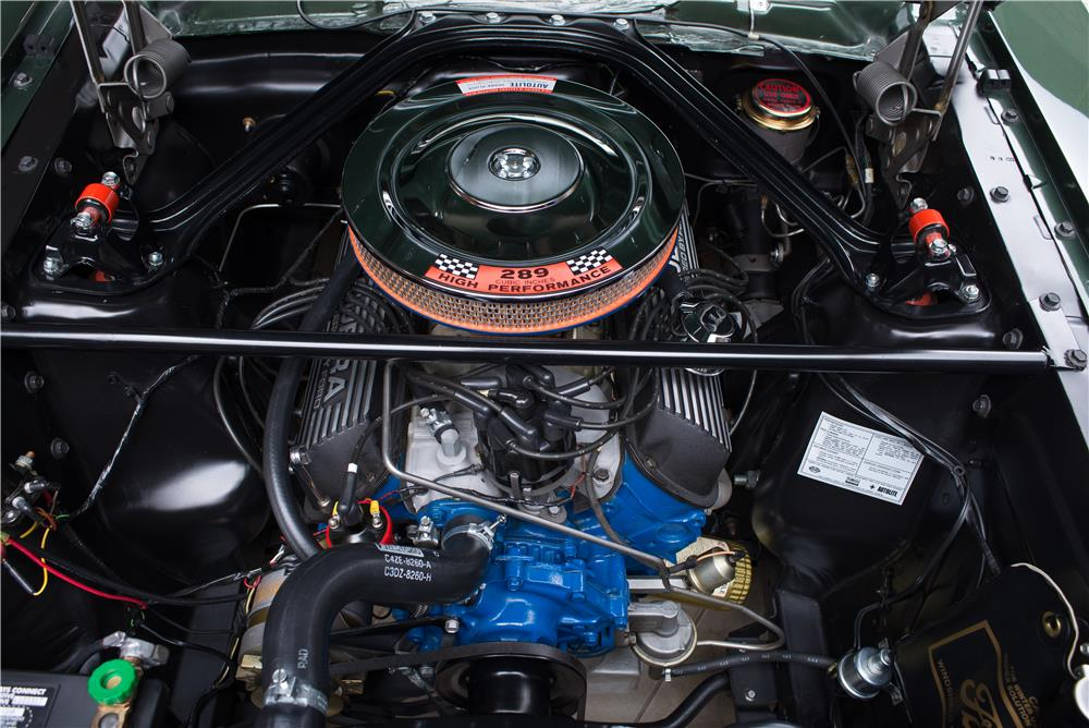 1966 SHELBY GT350 FASTBACK - Engine - 178620