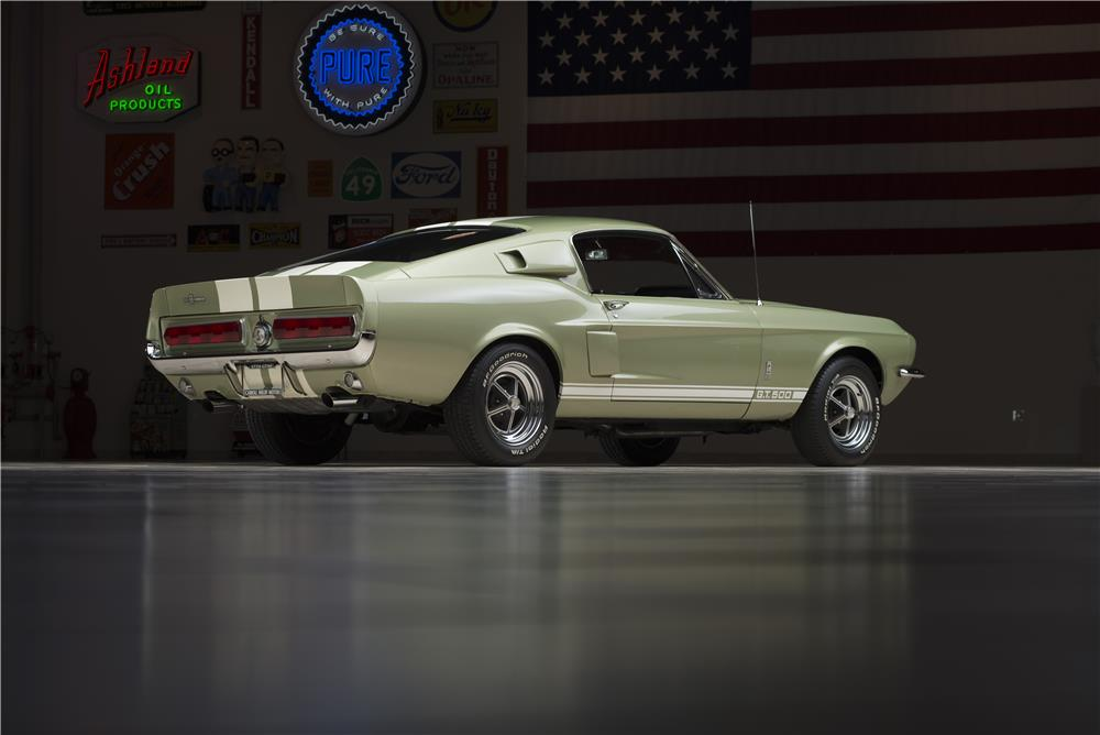 1967 SHELBY GT500 FASTBACK - Rear 3/4 - 178621