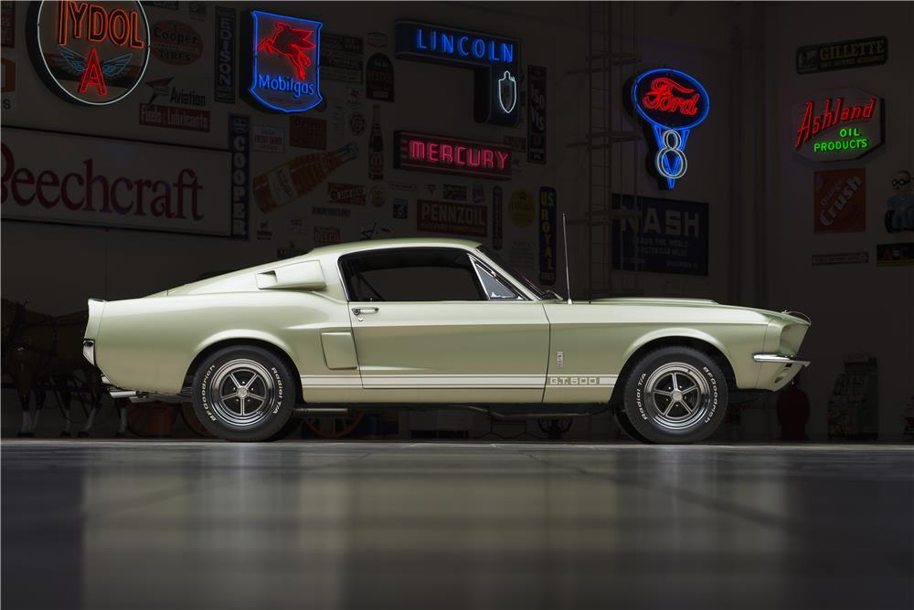 1967 SHELBY GT500 FASTBACK - Side Profile - 178621