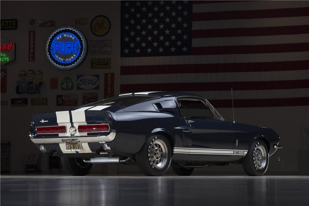 1967 SHELBY GT500 FASTBACK - Rear 3/4 - 178622