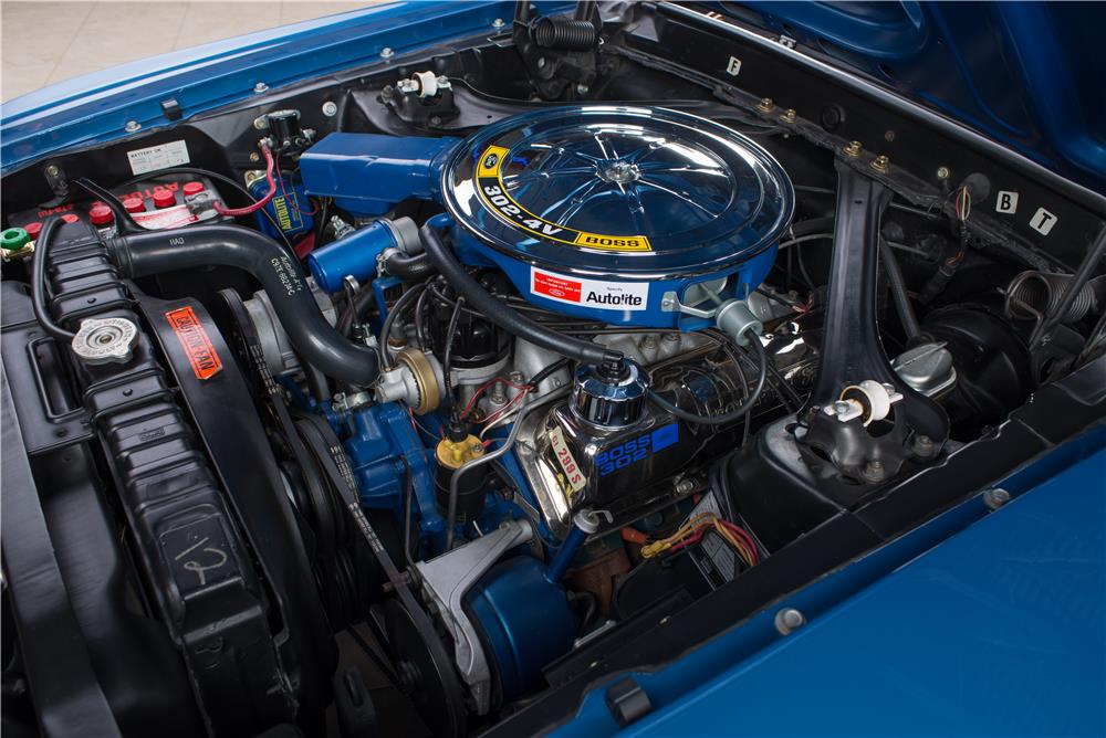 1969 FORD MUSTANG BOSS 302 FASTBACK - Engine - 178623