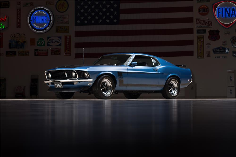 1969 FORD MUSTANG BOSS 302 FASTBACK - Front 3/4 - 178623