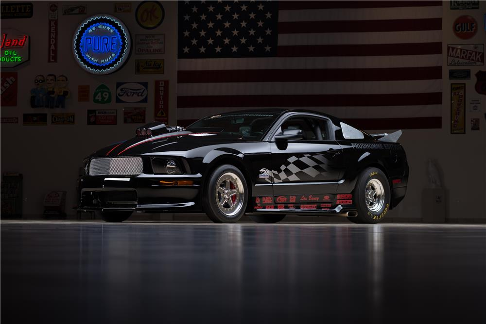 2007 FORD SHELBY GT500 SUPER SNAKE PRUDHOMME EDITION - Front 3/4 - 178624