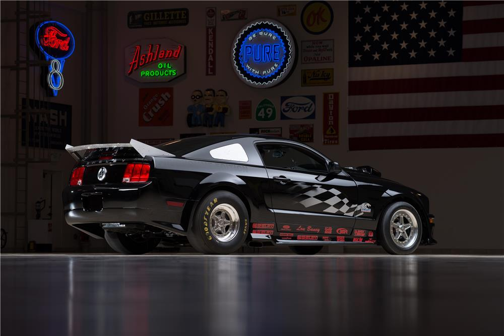 2007 FORD SHELBY GT500 SUPER SNAKE PRUDHOMME EDITION - Rear 3/4 - 178624
