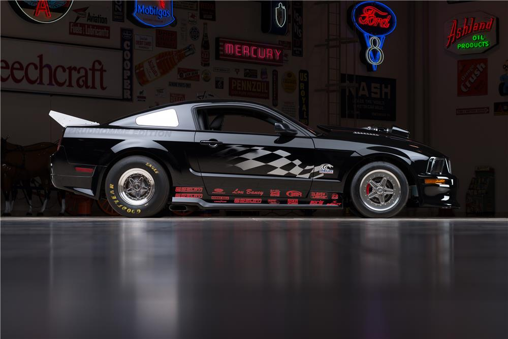 2007 FORD SHELBY GT500 SUPER SNAKE PRUDHOMME EDITION - Side Profile - 178624