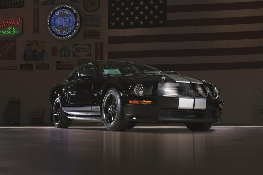 "2007 SHELBY GT FASTBACK ""SERIAL #001"" - Front 3/4 - 178625"