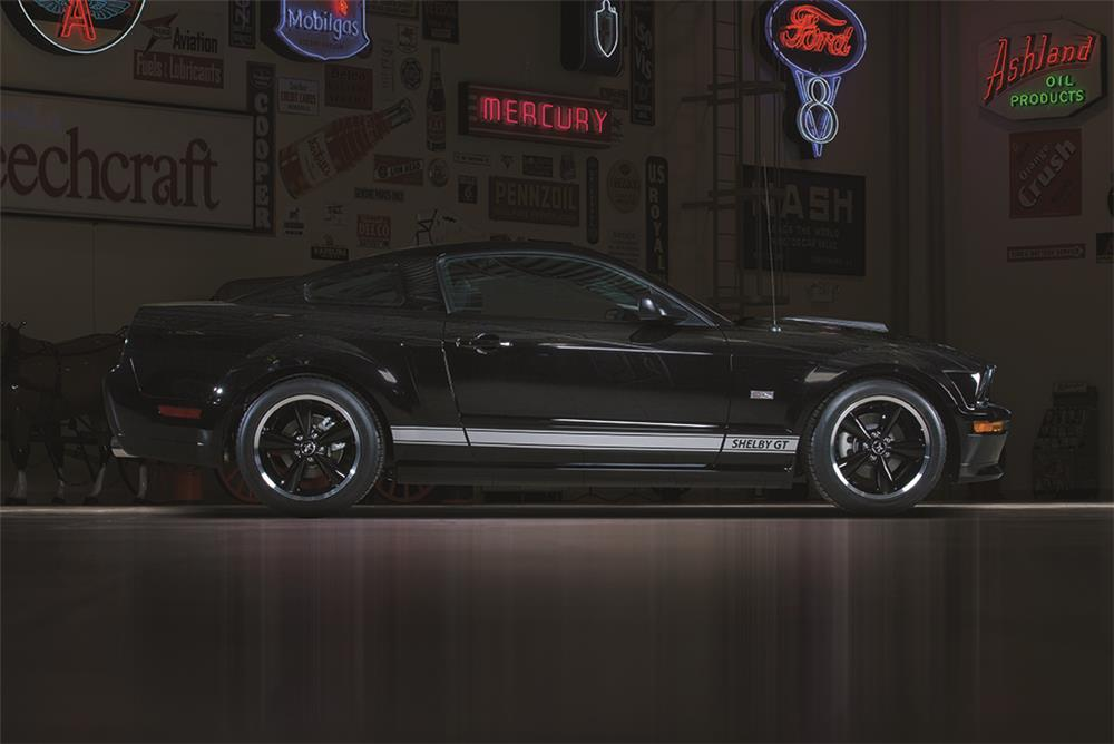 "2007 SHELBY GT FASTBACK ""SERIAL #001"" - Side Profile - 178625"