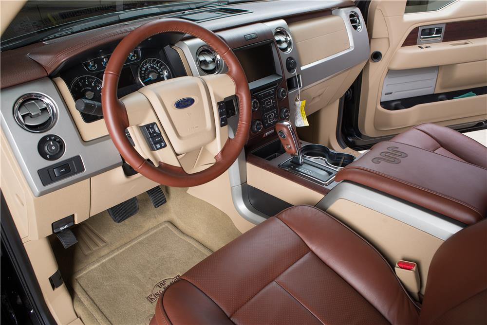 2013 FORD F-150 KING RANCH CREW CAB PICKUP - Interior - 178629