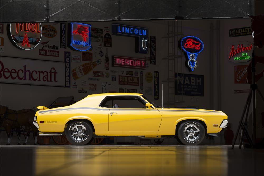 1970 MERCURY COUGAR ELIMINATOR 428 CJ - Side Profile - 178633
