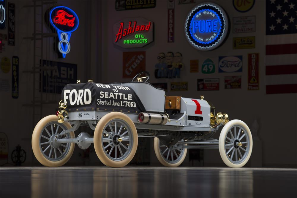 1909 FORD MODEL T RACER - Rear 3/4 - 178649