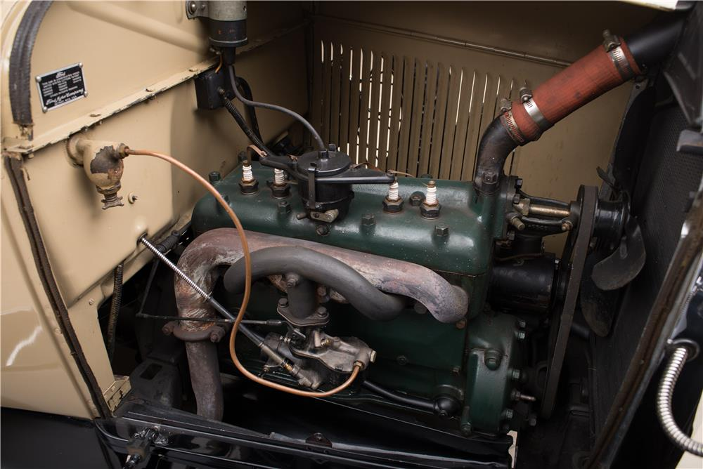 1929 FORD MODEL A STATION WAGON WOODY - Engine - 178654