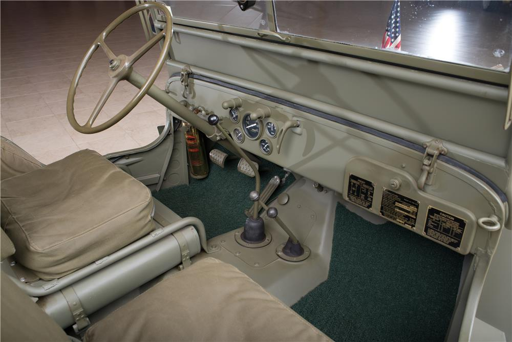 1942 FORD WORLD WAR II JEEP - Interior - 178658