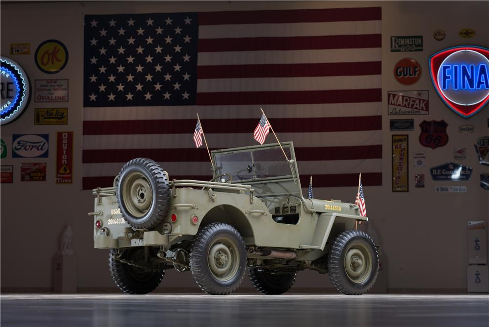 1942 FORD WORLD WAR II JEEP - Rear 3/4 - 178658