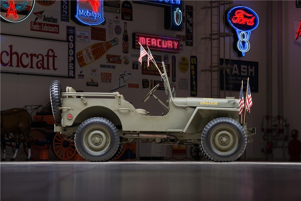1942 FORD WORLD WAR II JEEP - Side Profile - 178658