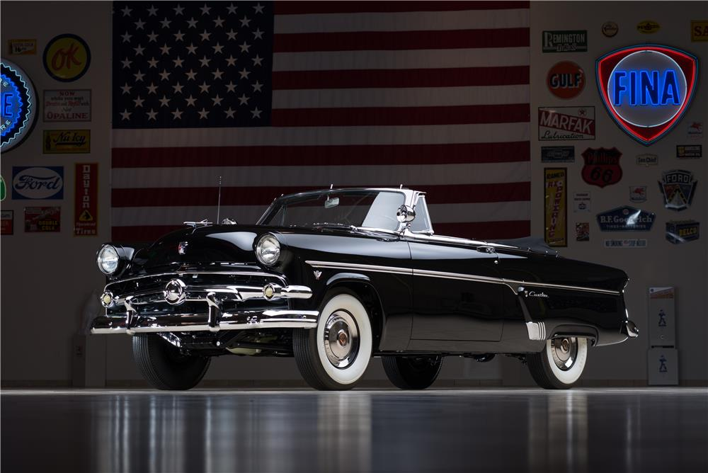 1954 FORD SUNLINER CONVERTIBLE - Front 3/4 - 178659