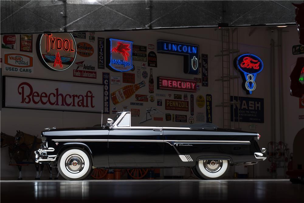 1954 FORD SUNLINER CONVERTIBLE - Side Profile - 178659