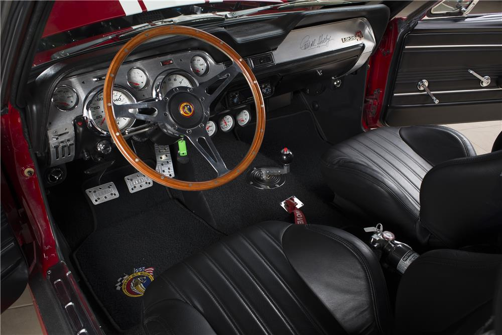 1967 FORD SHELBY GT500E SUPER SNAKE FASTBACK - Interior - 178660