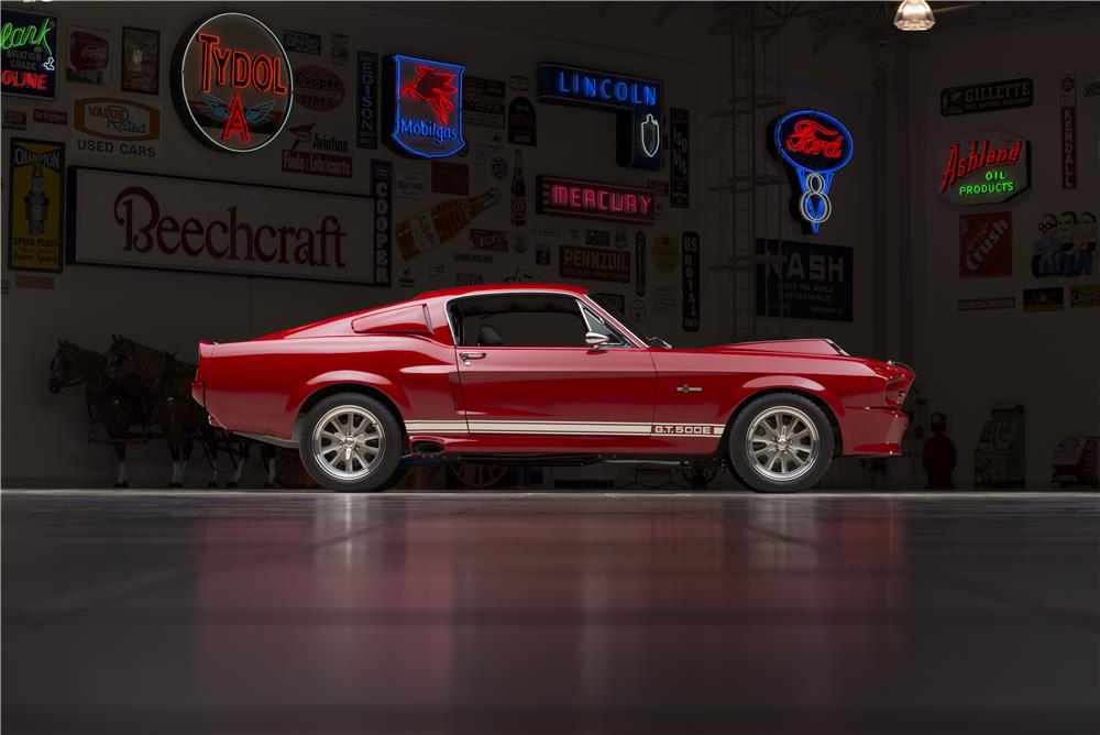 1967 FORD SHELBY GT500E SUPER SNAKE FASTBACK - Side Profile - 178660