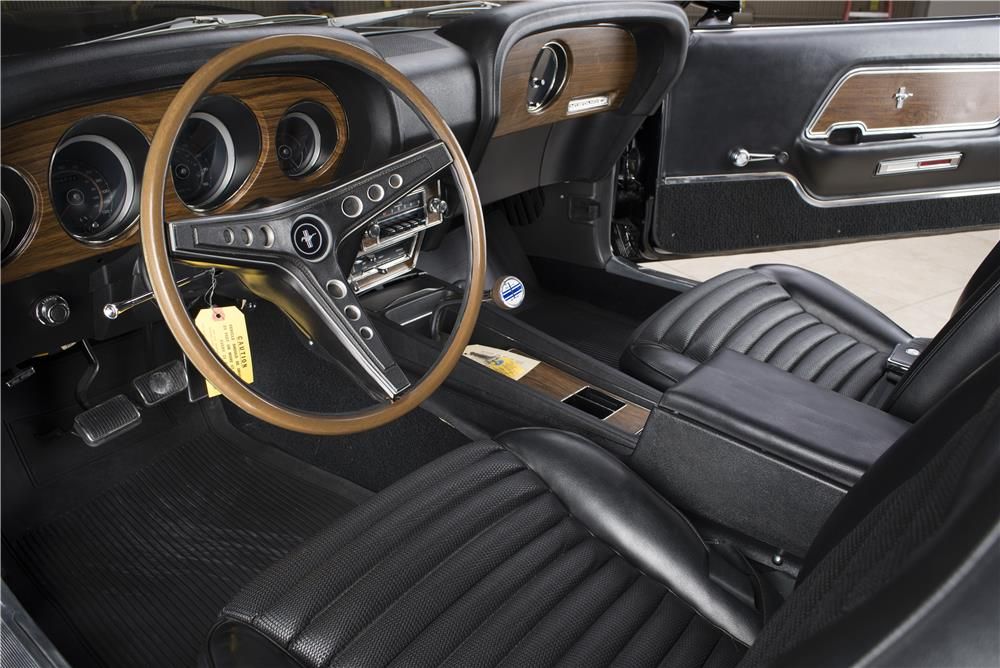 1969 FORD MUSTANG BOSS 429  - Interior - 178661