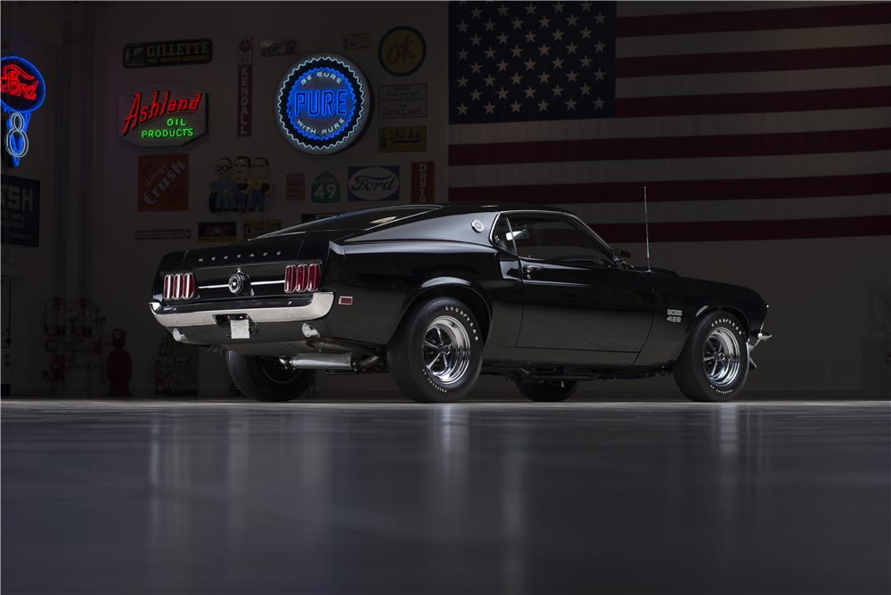 1969 FORD MUSTANG BOSS 429  - Rear 3/4 - 178661