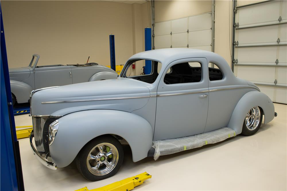 1940 FORD BOYD CODDINGTON WORK IN PROGRESS COUPE - Front 3/4 - 178665