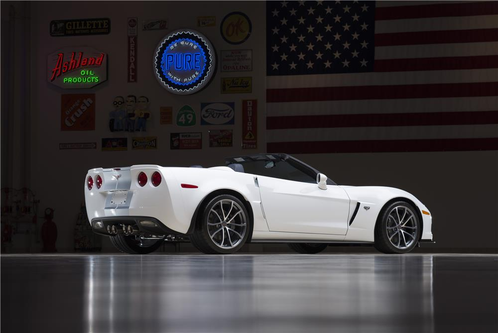"2013 CHEVROLET CORVETTE CONVERTIBLE ""SERIAL #001"" - Rear 3/4 - 178668"