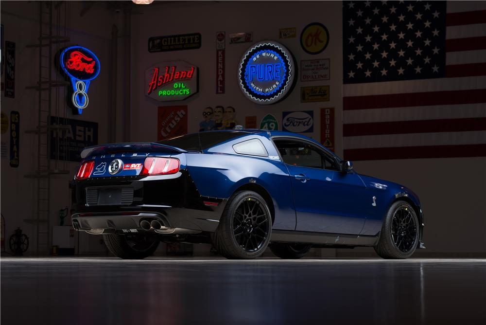 2013 FORD MUSTANG PROTOTYPE-CARROLL SHELBY DRIVEN - Rear 3/4 - 178669