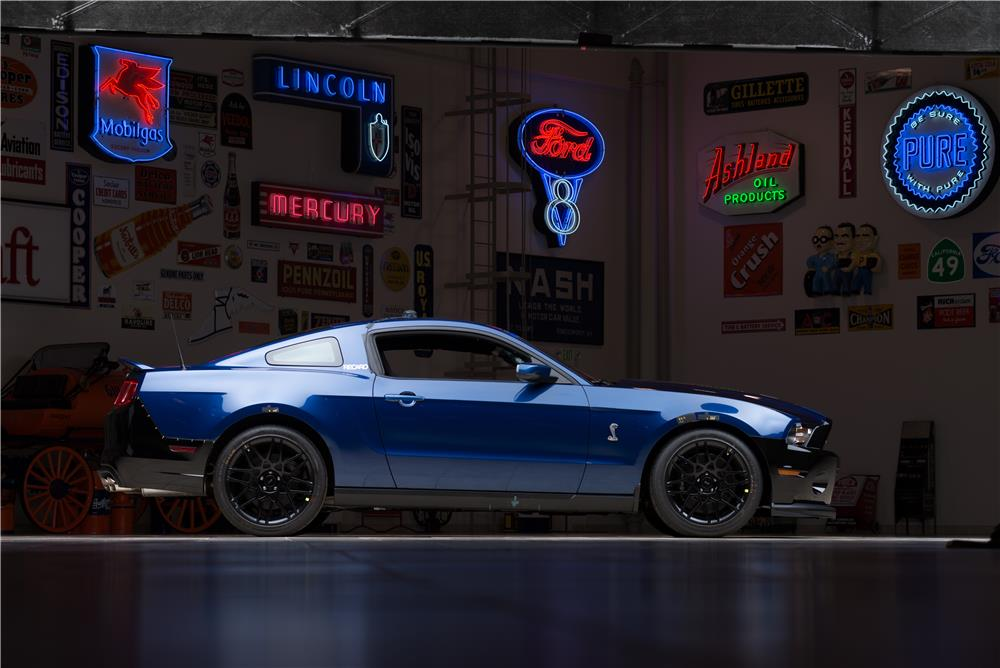 2013 FORD MUSTANG PROTOTYPE-CARROLL SHELBY DRIVEN - Side Profile - 178669