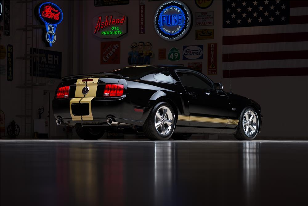 "2006 SHELBY MUSTANG HERTZ ""SERIAL #001"" - Rear 3/4 - 178674"