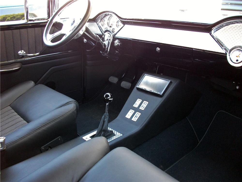 1956 CHEVROLET NOMAD CUSTOM WAGON - Interior - 178675