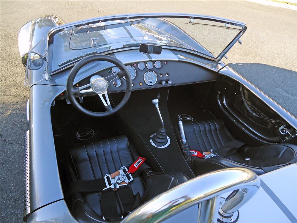 1965 SHELBY COBRA RE-CREATION ROADSTER - Interior - 178686