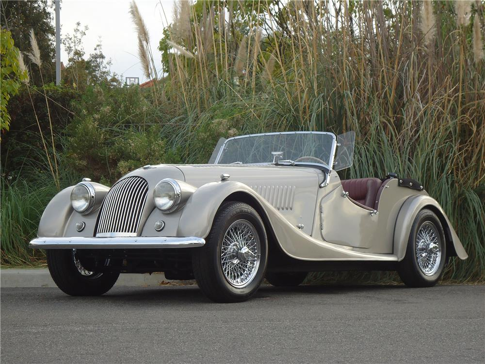 1961 MORGAN PLUS 4 ROADSTER - Front 3/4 - 178687