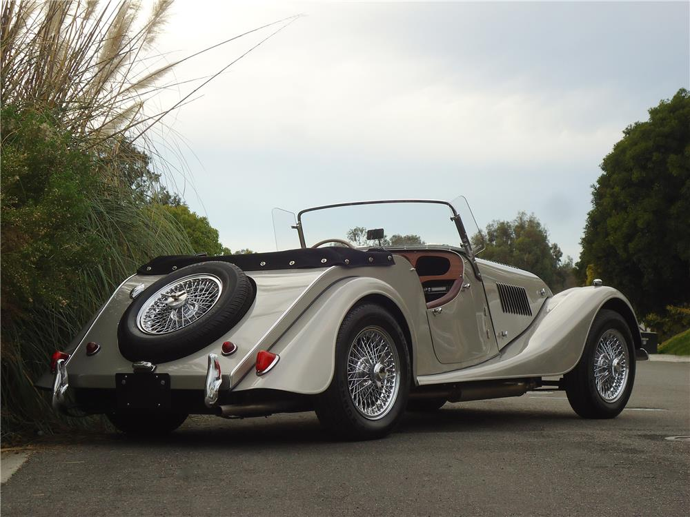 1961 MORGAN PLUS 4 ROADSTER - Rear 3/4 - 178687