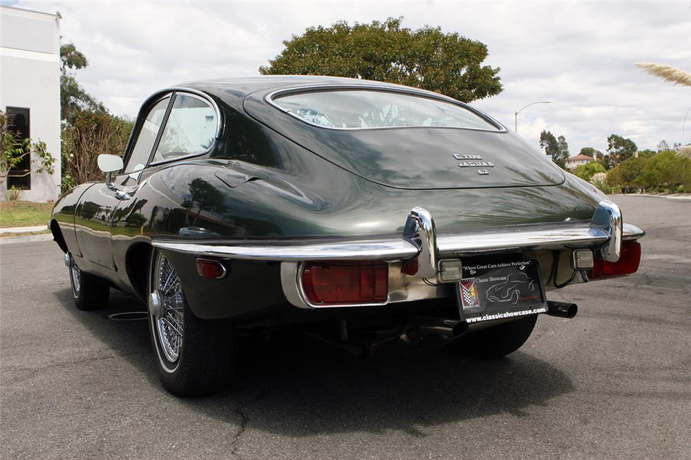 1969 JAGUAR XKE COUPE - Rear 3/4 - 178689
