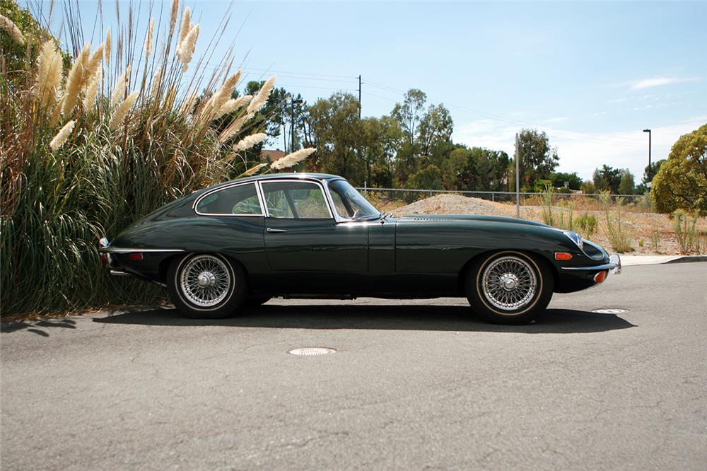 1969 JAGUAR XKE COUPE - Side Profile - 178689