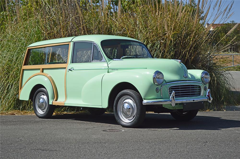 1956 MORRIS MINOR TRAVELER WAGON - Front 3/4 - 178691