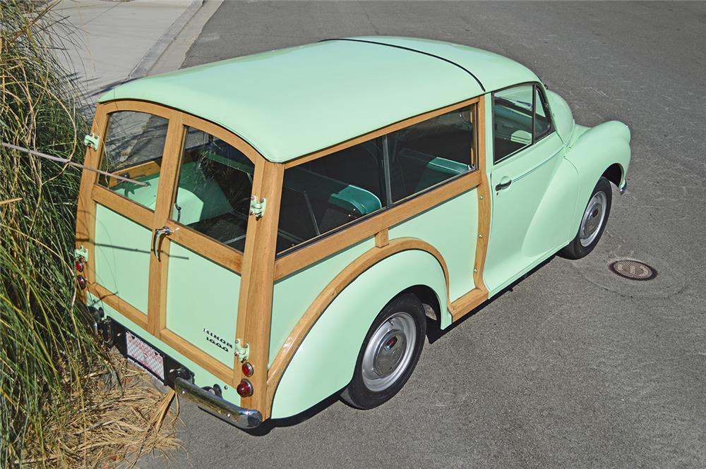 1956 MORRIS MINOR TRAVELER WAGON - Rear 3/4 - 178691