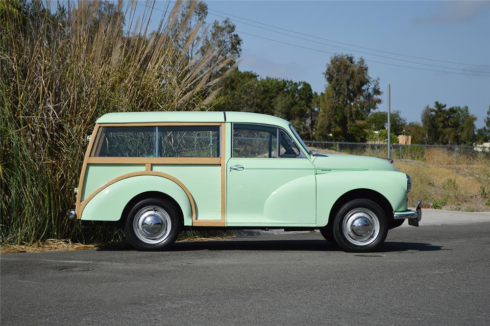 1956 MORRIS MINOR TRAVELER WAGON - Side Profile - 178691