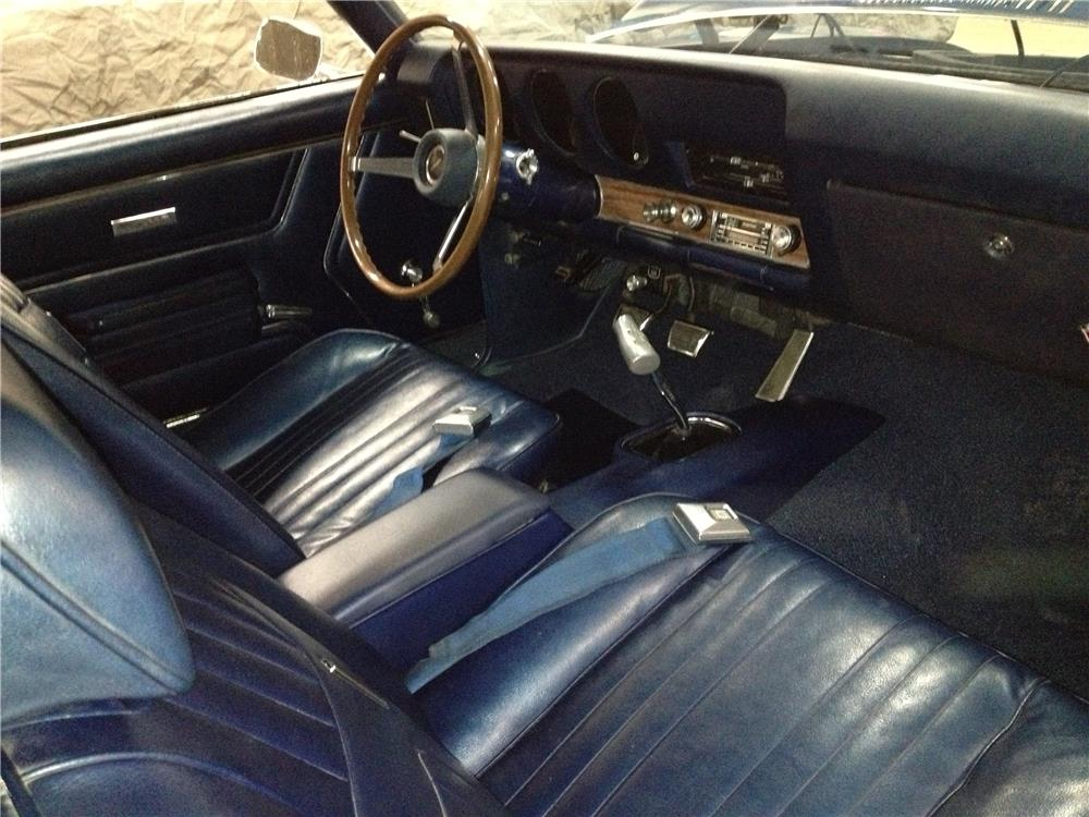 1969 PONTIAC GTO JUDGE - Interior - 178696