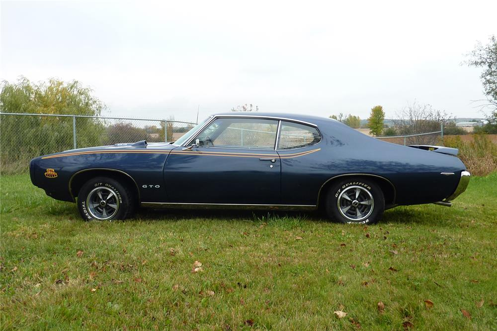 1969 PONTIAC GTO JUDGE - Side Profile - 178696