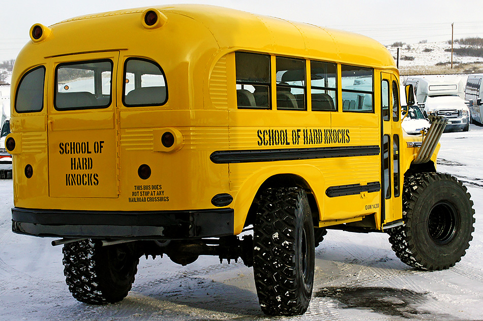 1957 Chevrolet Custom School Bus