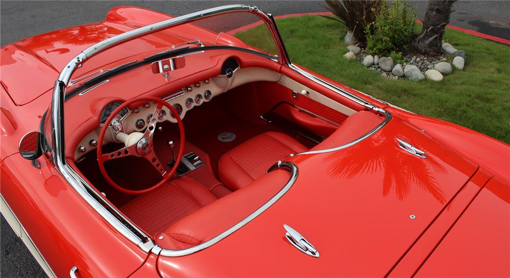 1956 CHEVROLET CORVETTE ROADSTER - Interior - 178706