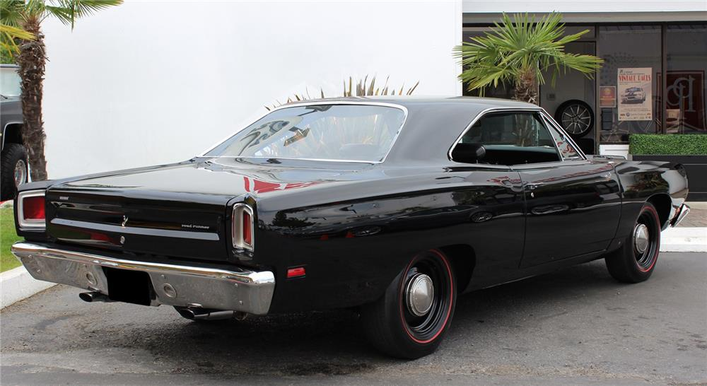 1969 PLYMOUTH HEMI ROAD RUNNER - Rear 3/4 - 178707
