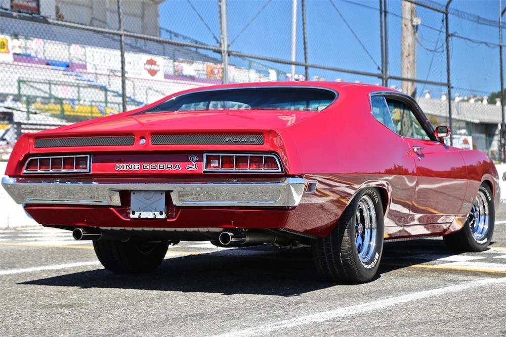 "1970 FORD TORINO ""KING COBRA"" RE-CREATION - Rear 3/4 - 178708"