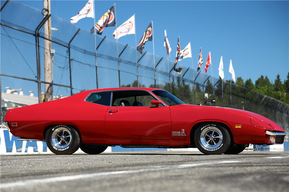 "1970 FORD TORINO ""KING COBRA"" RE-CREATION - Side Profile - 178708"