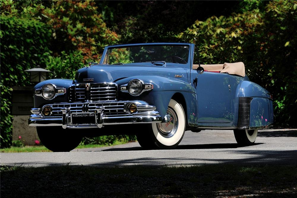 1948 Lincoln Continental Convertible 178709