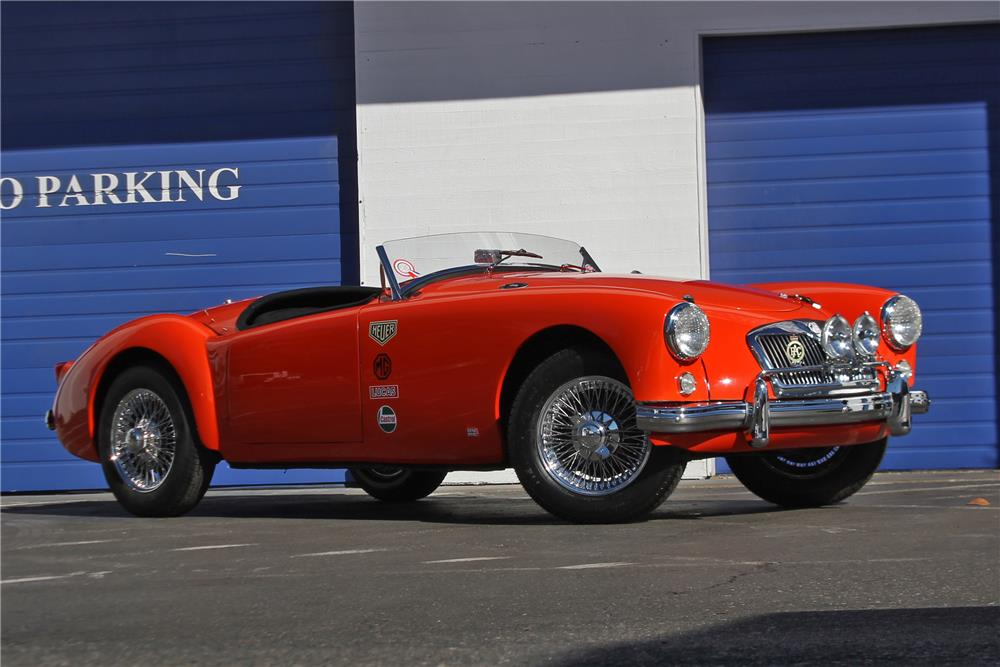 1956 MG A ROADSTER - Front 3/4 - 178711