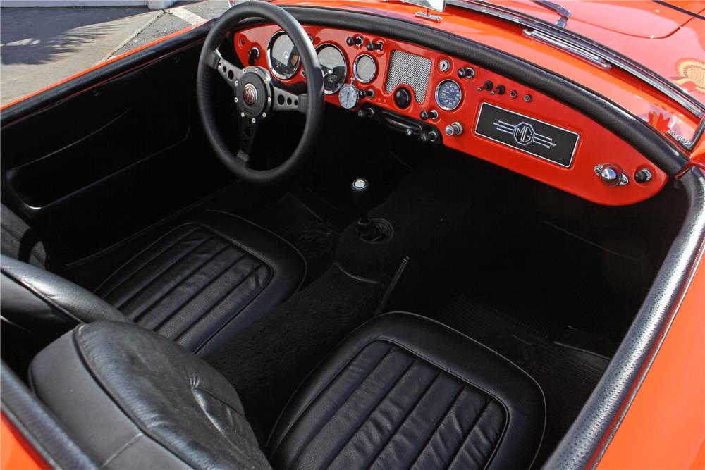 1956 MG A ROADSTER - Interior - 178711