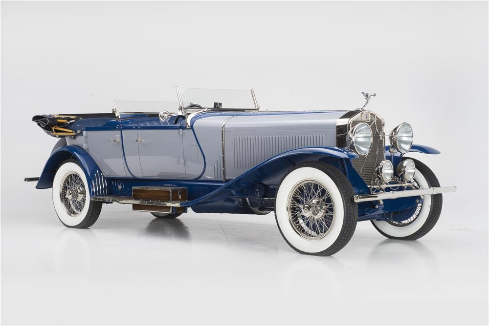 1927 ISOTTA FRASCHINI LEBARON 8A S DUAL COWL - Front 3/4 - 178718
